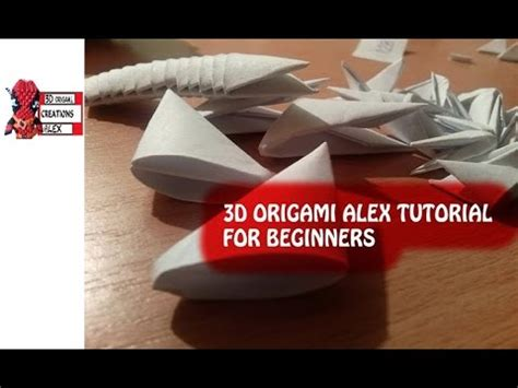 3d origami beginner tutorial how to make 3d origami pieces tutorial 3d origami for