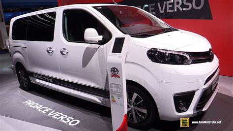 Raket Pro Ace All Around 2018 toyota proace verso exterior and interior walkaround 2017 frankfurt auto show