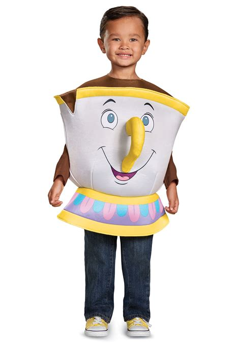 chip deluxe toddler costume from and the beast