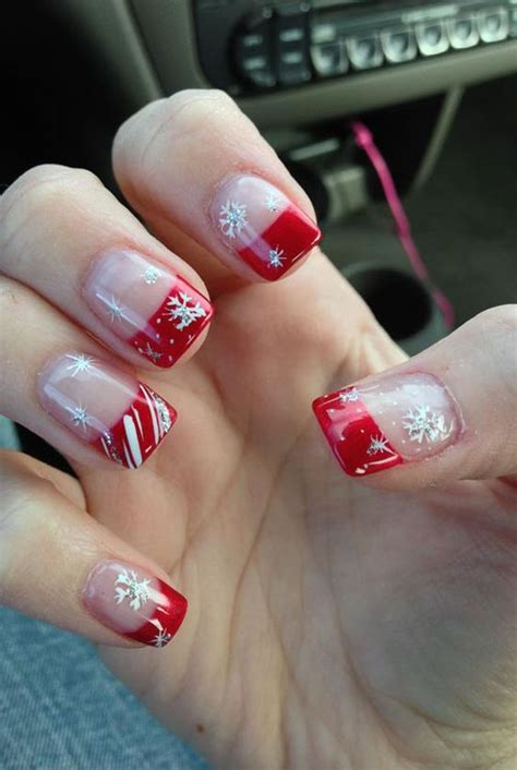 christmas pattern nails simple christmas nail art designs all about christmas