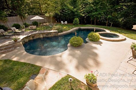 Backyard With Pool Landscaping Ideas with Backyard Pool Designs Landscaping Pools Home Office Ideas