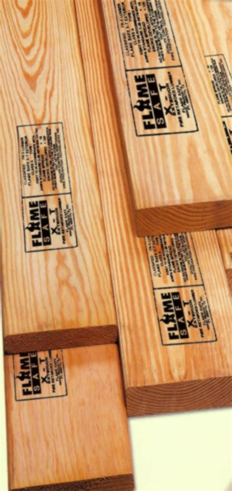fire retardant lumber fire retardant wood products