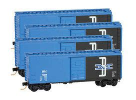 Boston Micro Gr z scale model freight cars