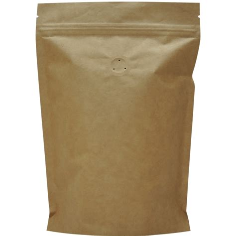 Standing Pouch Transparant With Zipper 250 Gr 500g stand up pouch with zip and valve kraft