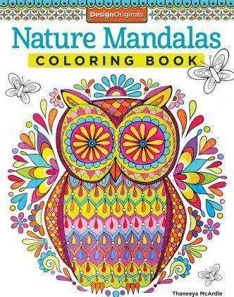 mandala coloring book singapore nature mandalas coloring book thaneeya mcardle