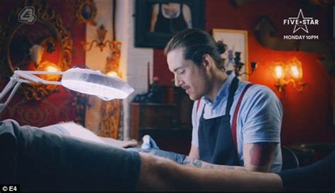 tattoo fixers vote leave tattoo fixers man has a penis tattoo on his leg from