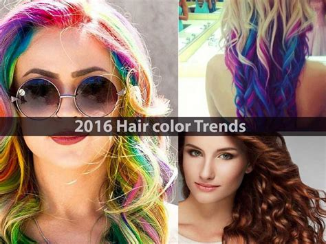 hairstyles color trends 2016 hair color trends hairstyle for women