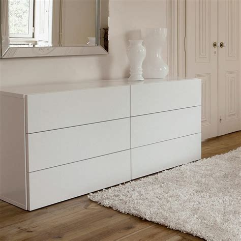 weisse kommode schubladen modern white chest of drawers homefurniture org