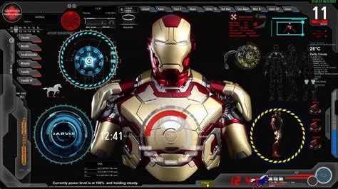 Live Wallpaper For Pc Iron Man | iron man jarvis wallpapers wallpaper cave