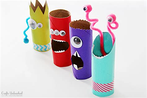 Tissue Paper Roll Crafts - toilet paper roll crafts recycled treat holders