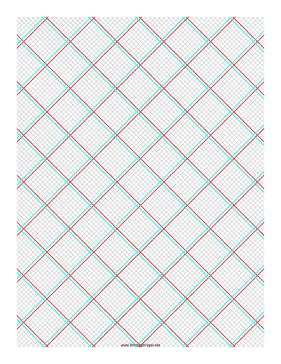 grid layout offset printable 3d paper 10x10 grid with medium offset