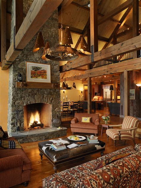 living room rustic moments by the fireplace architecture interior