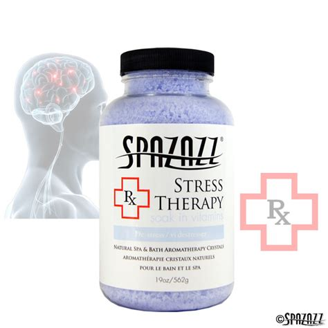 De Stress With Philosophys Therapy On The Go Kit by Spazazz Rx Therapy Stress Therapy De Stress Crystals