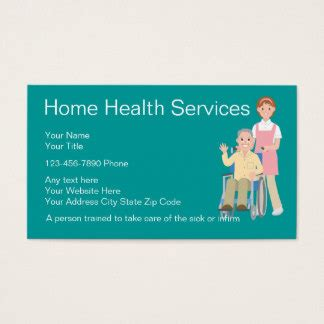 health care business cards templates zazzle