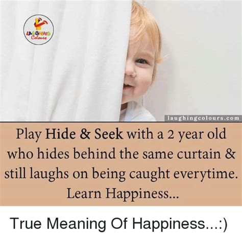 Kaset Same Same The Meaning Of Happy la ghing laughing colours play hide seek with a 2 year who hides the same