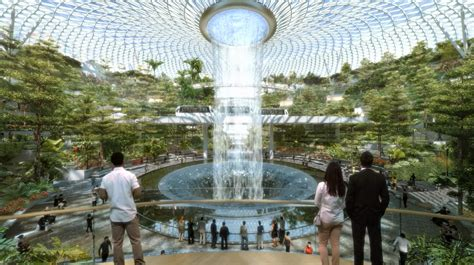 safdie architects changi airport  host worlds