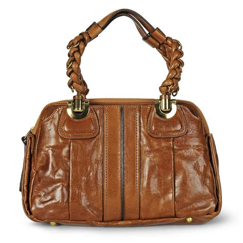 Heloise Purse by Chlo 233 Heloise Leather Bag In Brown Nutmeg Lyst