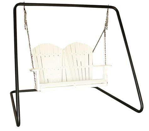 metal frame swing powdercoated metal swing frame