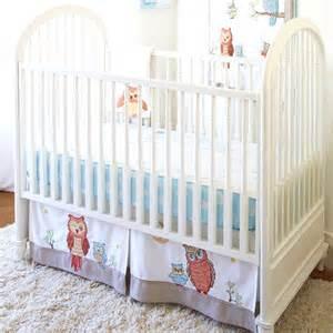 Owls Crib Bedding Baby Owls Crib Bedding Set