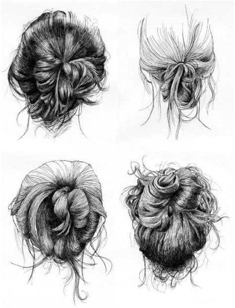sketches of hair drawing tips the hair on pinterest how to draw hair
