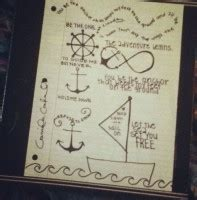 Popular Items For Love Anchors - inspirational quotes with drawings quotesgram