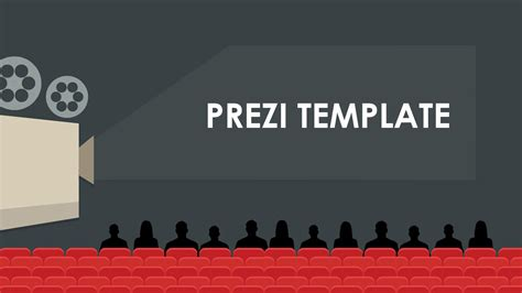 My Movie Prezi Template Youtube Show Ppt Template