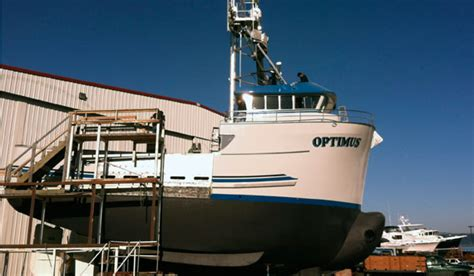 commercial fishing boat builders west coast f v optimus new 58 foot combination boat for west coast