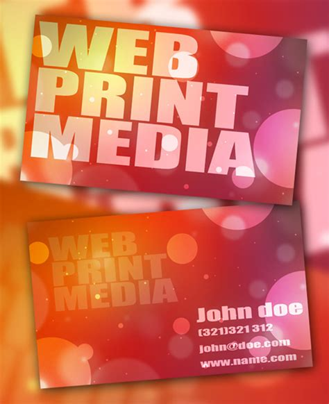 100 Free Business Card Templates To Download Free Psds Nextdayflyers Next Day Flyers Templates