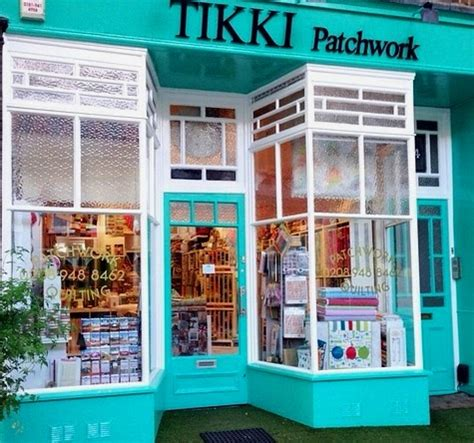 Tikki Patchwork Quilt Fabric Store And Haberdashery Shop