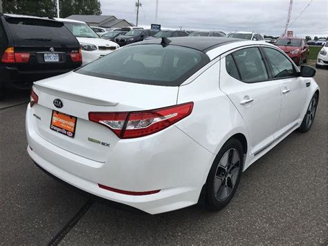 Kia Optima Hybrid Ex 2013 2013 Kia Optima Hybrid Ex Premium Nav Leather Sunroof