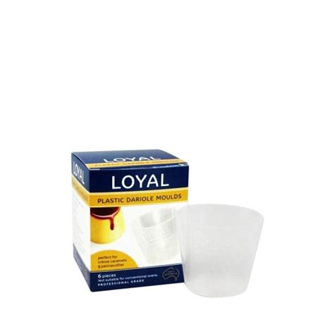 Loyal Cake Decorating Supplies by Loyal Plastic Dariole Moulds 6pk Fast Shipping