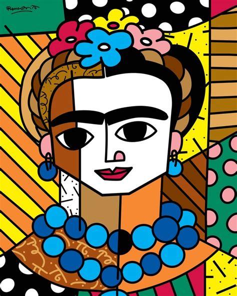 imagenes figurativas realistas famosas romero britto frida for sale artspace