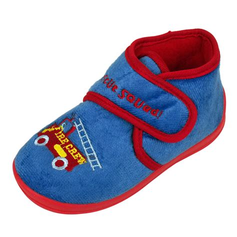 slippers for toddler boys boys childrens toddlers novelty ankle boot slipper