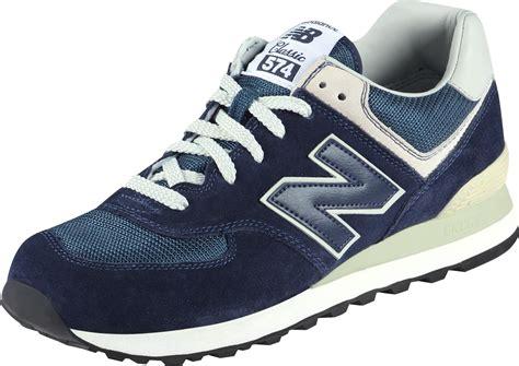 new bance new balance ml574 chaussures bleu