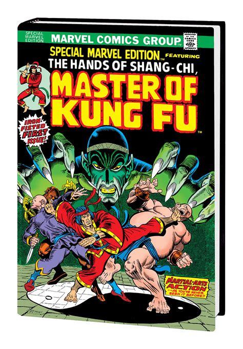 libro shang chi master of kung previewsworld shang chi master of kung fu omni hc vol 01 dm ed starlin var