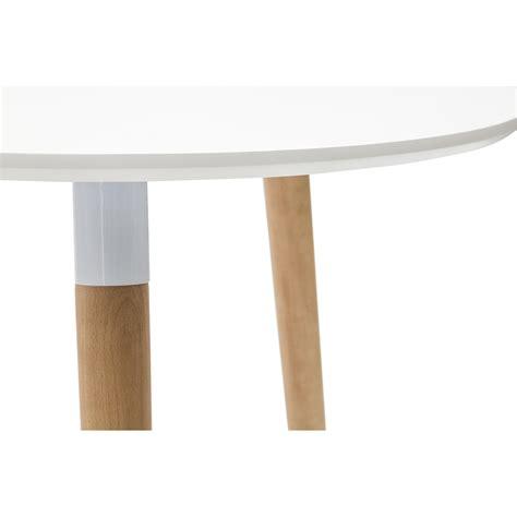 tavolo in faggio tavolo rotondo laccato bianco in mdf con gambe in faggio