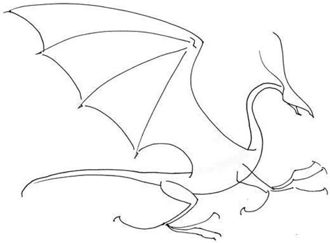 how to draw a dragon with just a few lines. This makes it