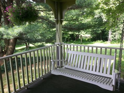 wooden hanging porch swing 12 steps to building a hanging wooden porch swing