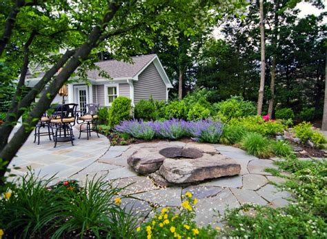 Landscape Architect New Jersey Feature On Modern Pit Outdoor Gas