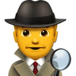 man detective emoji (u+1f575, u+fe0f, u+200d, u+2642, u+fe0f)