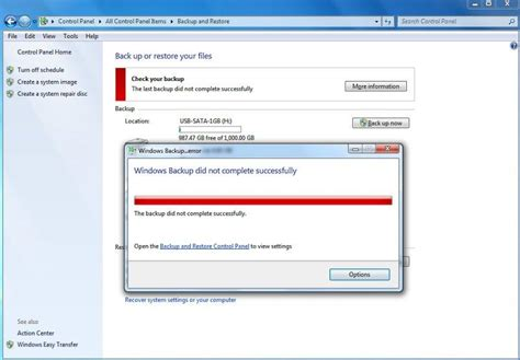 backup image how to fix error code 0x81000037 when using windows 7s