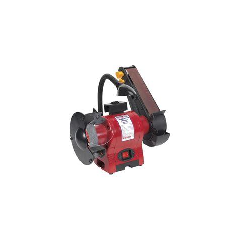 150mm bench grinder sealey bench grinder 150mm with 50mm belt sander work