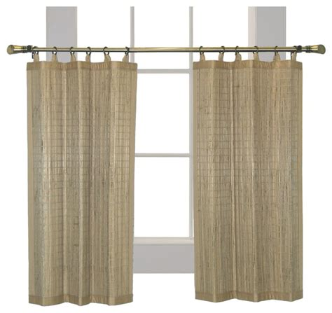 bamboo tier curtains versailles home fashions inc versailles patented ring