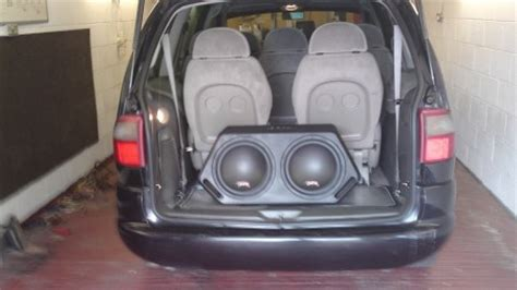 ford galaxy install   juice  active subwoofer   car audio centre nottingham car