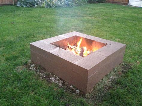 Cinder Block Fire Pit Garden Pinterest Cinder Block Firepit