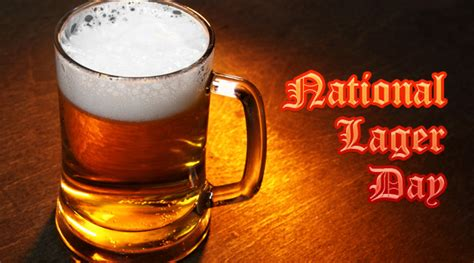 is today national day today is national lager day
