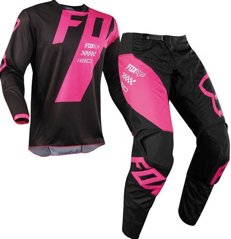 pink motocross boots 2018 fox 180 mastar motocross gear black pink 1stmx co uk