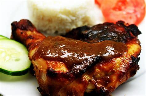resep masakan indonesia resep ayam bakar bumbu rujak
