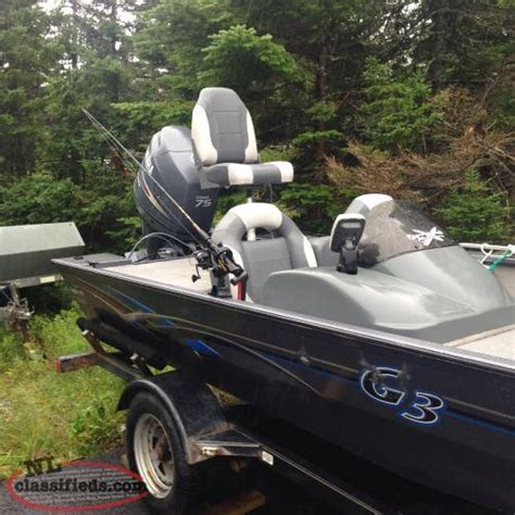 aluminum boats newfoundland 17 g3 welded aluminum bass boat for sale upper island