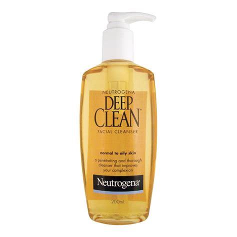 deep clean buy deep clean facial cleanser 200 ml by neutrogena online